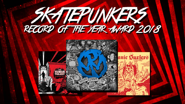 Skatepunkers Record Of The Year Award 2018 Results