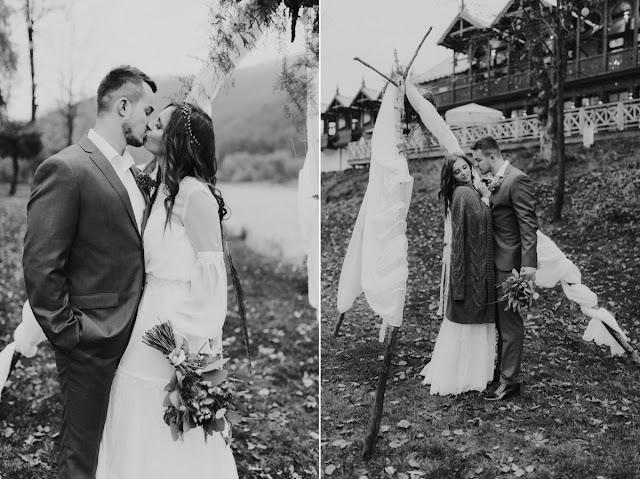 Stylizacja ślubna etno.