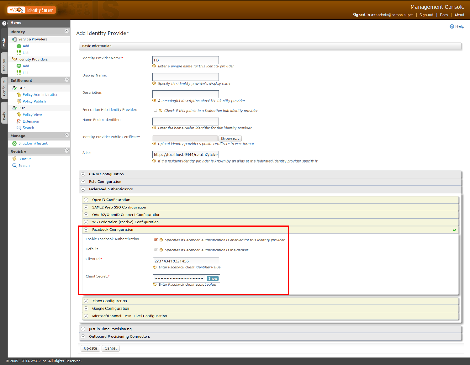 Dinusha's Blog: How to enable login to WSO2 API Manager