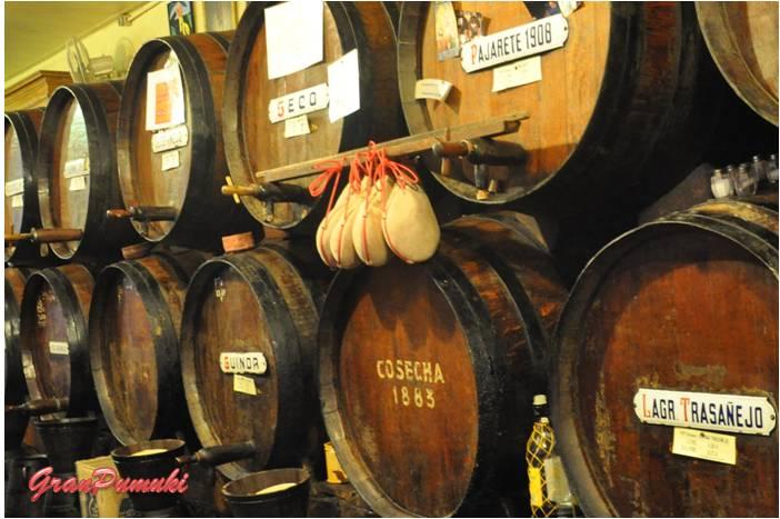 Blog de Viajes: Resumen Viajero 2014. De vinos por Málaga no puede faltar el Pajarete