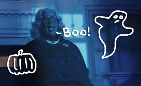 how horrid a madea movie any madea movie really heres a teaser trailer for boo a madea halloween written directed and starring tyler perry