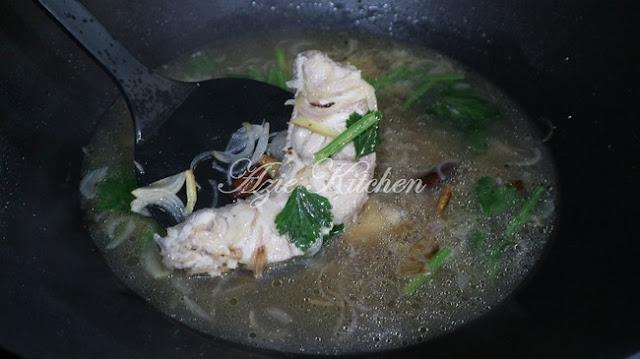 Sup Ikan Kurau Untuk Wanita Dalam Pantang