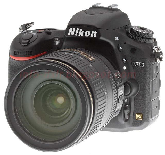 Spesifikasi dan Harga Terbaru Nikon D750 2017