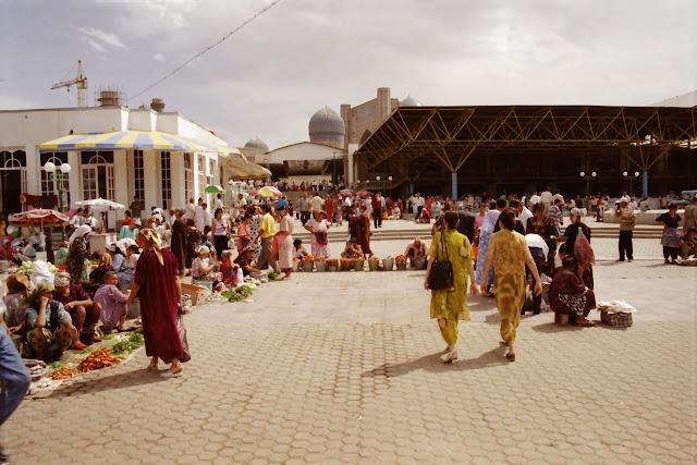 Ouzbékistan, Samarcande, Siyab, © L. Gigout, 2001