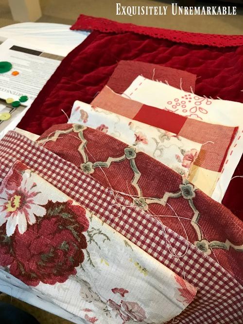 Scrap Fabric Apron