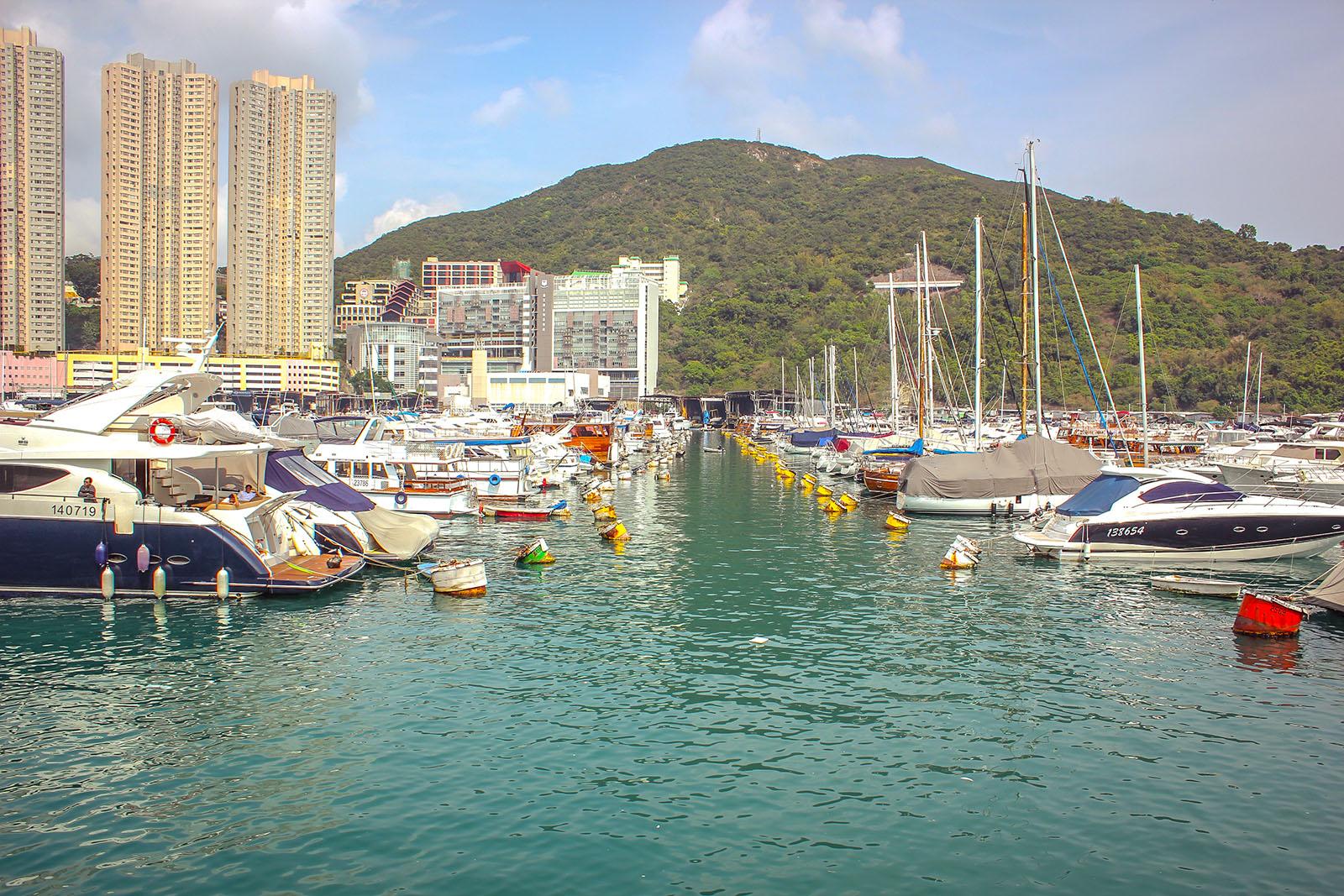 Boat parking Hong kong
