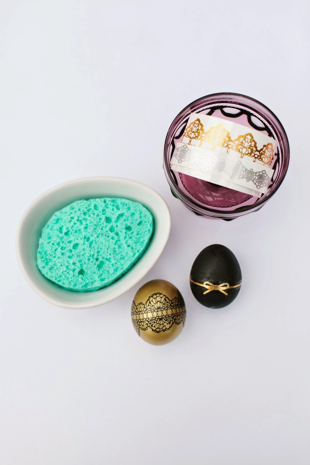 Match your Chic Mani to your Easter Eggs- DIY via ProductReviewMom.com