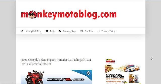 Monkeymotoblog.com - Blog Otomotif  Terbaik Di Indonesia