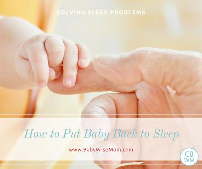 How to Put Baby Back to Sleep