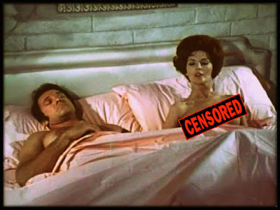 Peter Carpenter, worn out from having to make love to women ALL the time, alongside Lynn Gordon in LOVE ME LIKE I DO (1970)