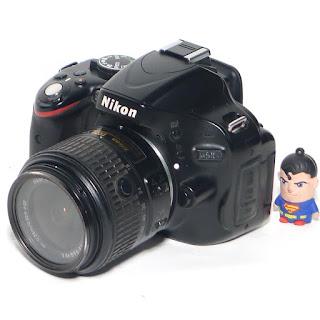 Kamera DSLR Nikon D5100 Second di Malang