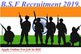 Border Security Force (BSF) Constable (Tradesmen) Vacancies 2019