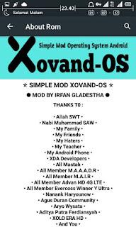Cusrom Ringan Xovand OS ADVAN i4D [Update Link]
