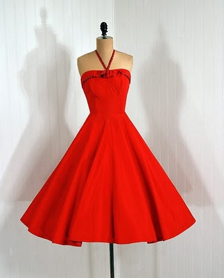 Looking for a Red Dress