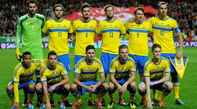 Skuad Resmi EURO 2016 Swedia