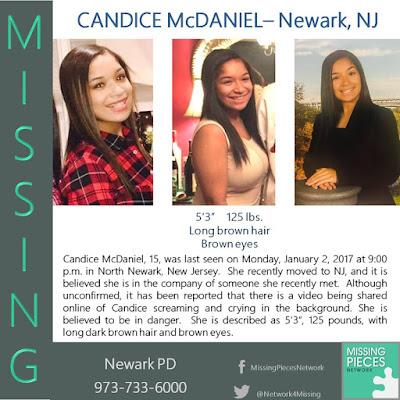 Candice McDaniel Missing Snapchat Crying Newark, NJ