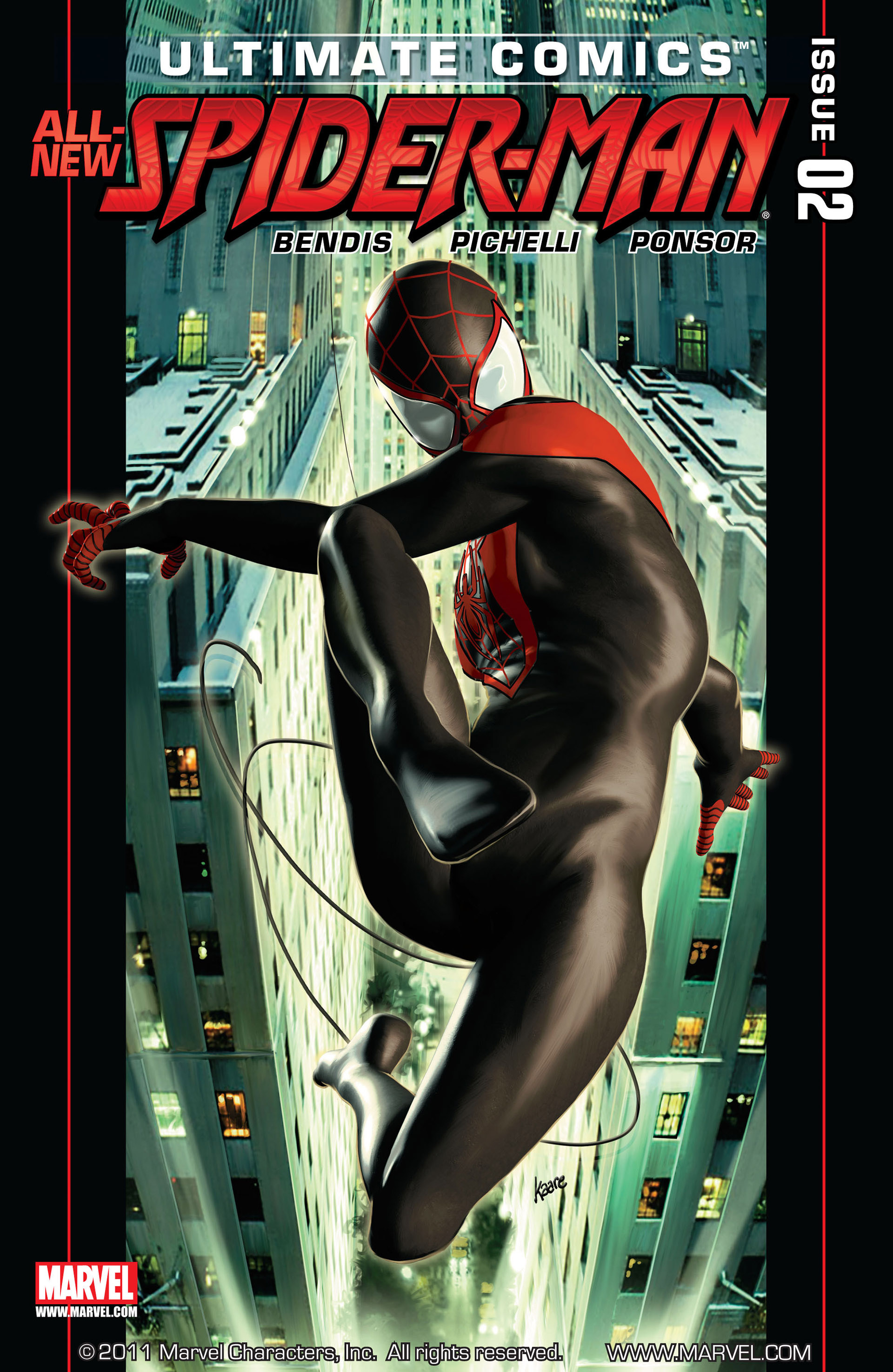 Read online Ultimate Comics Spider-Man (2011) comic -  Issue #2 - 1