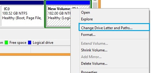 how to change primary hard drive windows 8