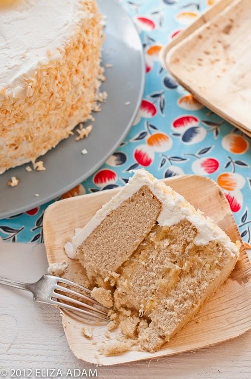 Pineapple Wedding Cake Recipe