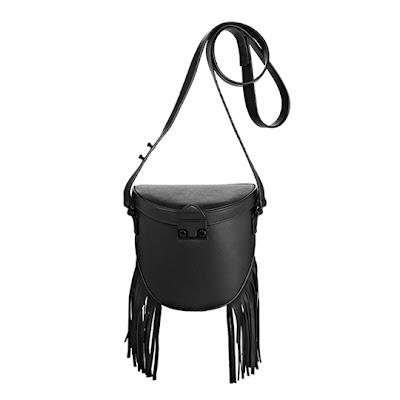 Loeffler Randall Shooter Bag with Fringe - $395
