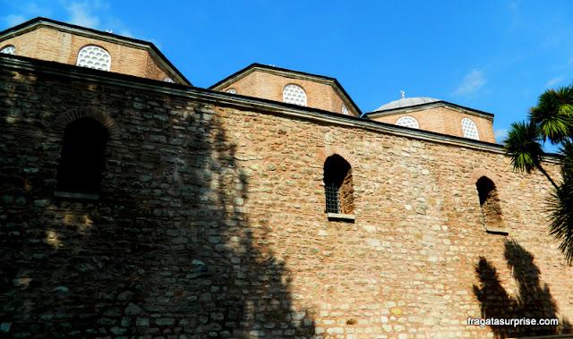 Muralhas do Palácio de Topkapi, em Istambul