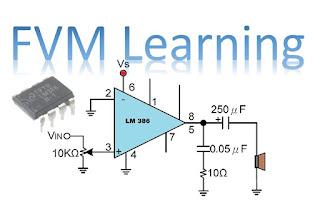Pré-Amplificador de Audio de baixa Voltagem com LM386