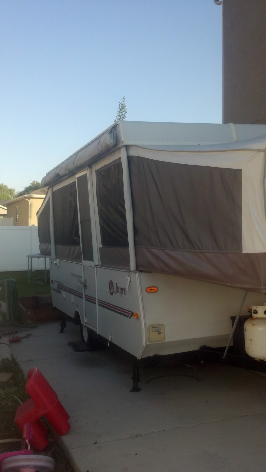 into the RV future: My little old tent trailer is becoming ...