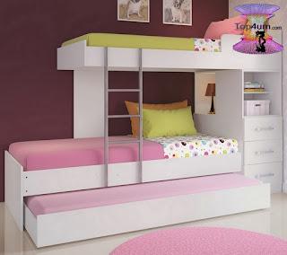 اشيك ديكورات غرف نوم اطفال اولاد وبنات مشتركة Cool Shared