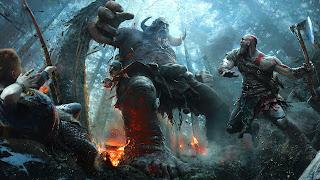 God of War PS4 Wallpaper