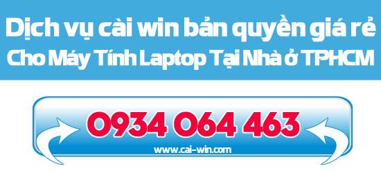 Dịch vụ cung cấp key, cài win 7 win 8 bản quyền cho máy tính laptop tp HCM