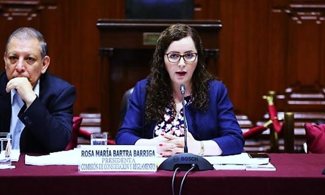 Rosa Bartra - Comisión de Constitución