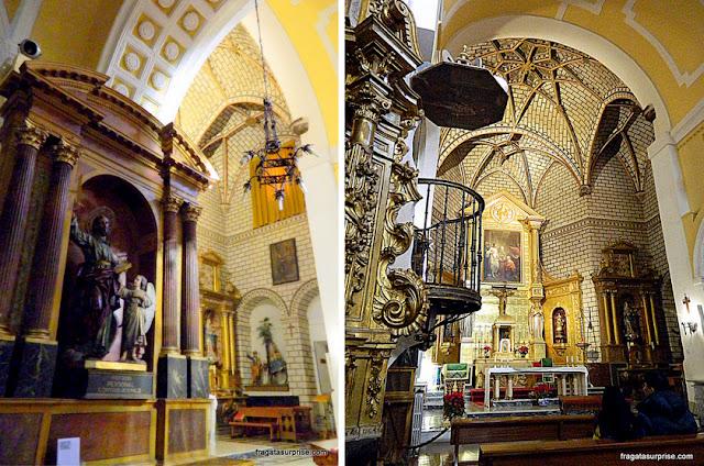 Interior da Igreja de San Tomé, Toledo, Espanha