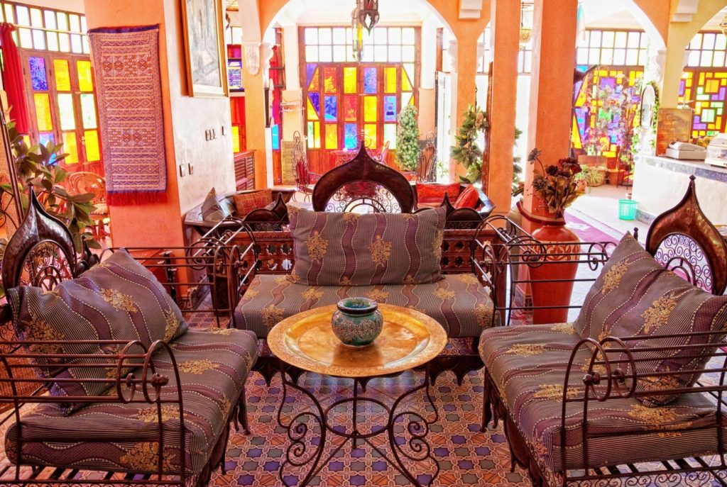 Tips In Using Moroccan Theme On Your House Morocco Uses A Lot Of Warm And  Bold Color On Their House. That Is Why If You Want To Let Your Wall Bare  And ...
