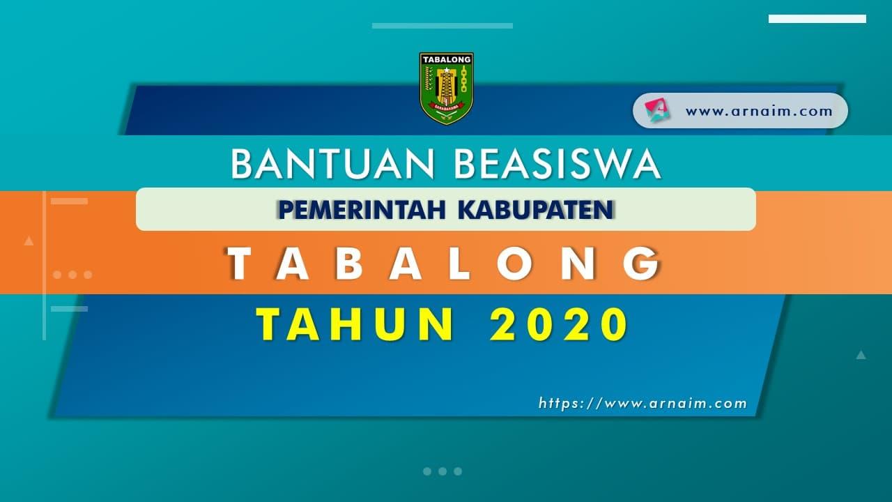 ARNAIM.COM - BEASISWA MAHASISWA PEMKAB TABALONG TAHUN 2020