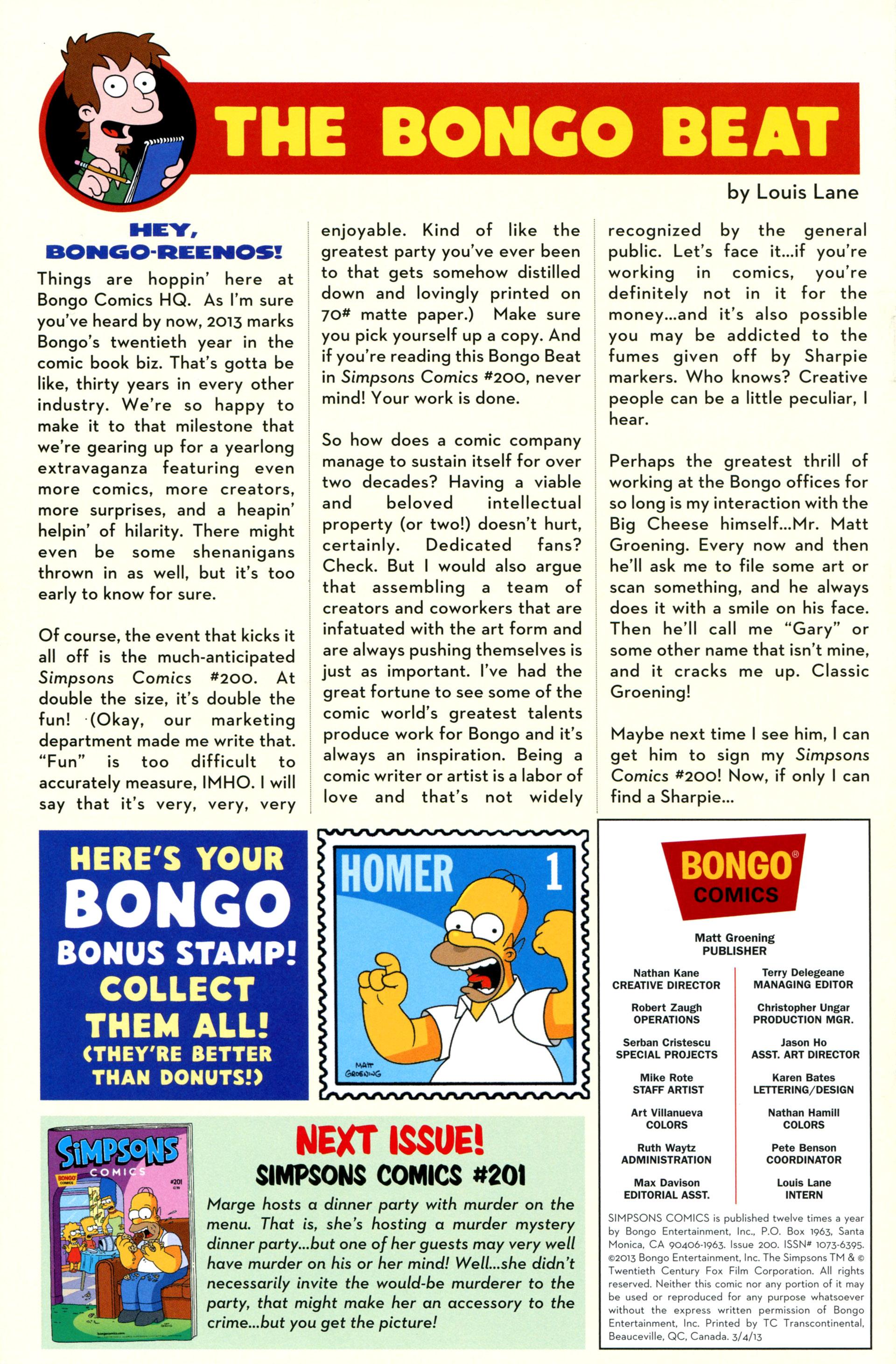 Read online Simpsons Comics comic -  Issue #200 - 45