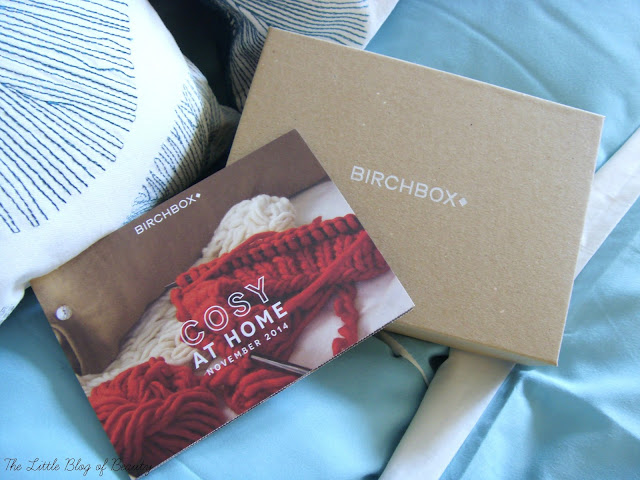 Birchbox November 2014 - Cosy at home