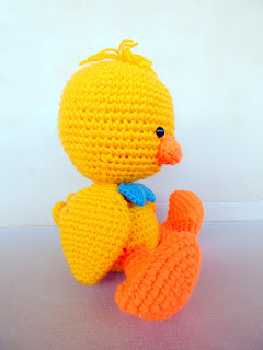crochet amigurumi large duck