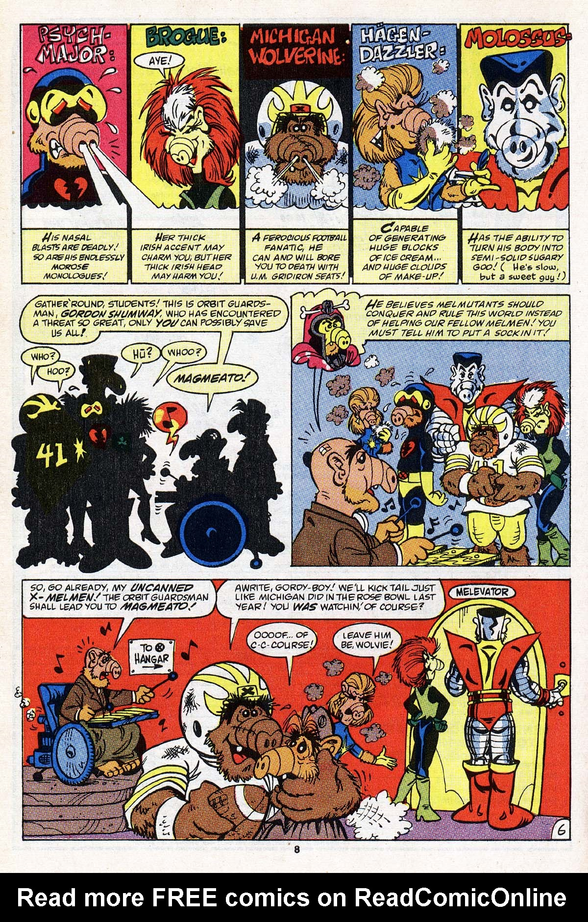 Read online ALF comic -  Issue #22 - 7