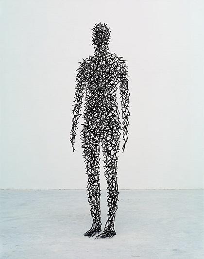 "Antony Gormley - ""Domain I"", 1999. | imagenes obras de arte figurativo abstracto, esculturas figurativas abstractas | art pictures inspiration, cool stuff"