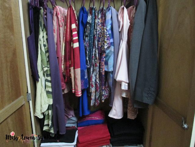 Biasanya Korang Letak Pakaian Terpakai dekat mana ya?