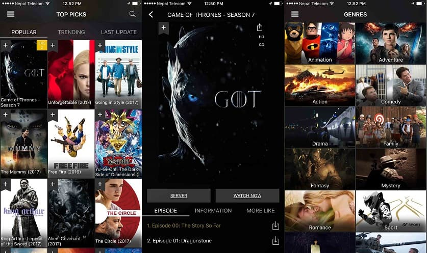 Download Movies Apk for Android & iPhone