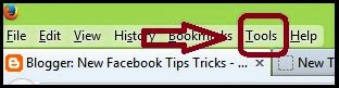 How to Hide Facebook Name invisible Empty 2014 image