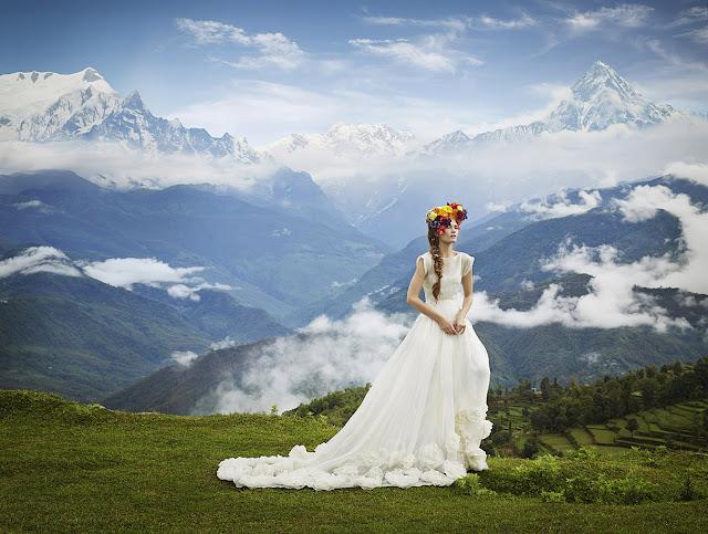 fashion photography, Nepal