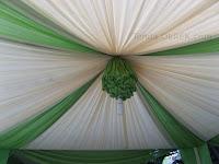 tenda gelembung hijau