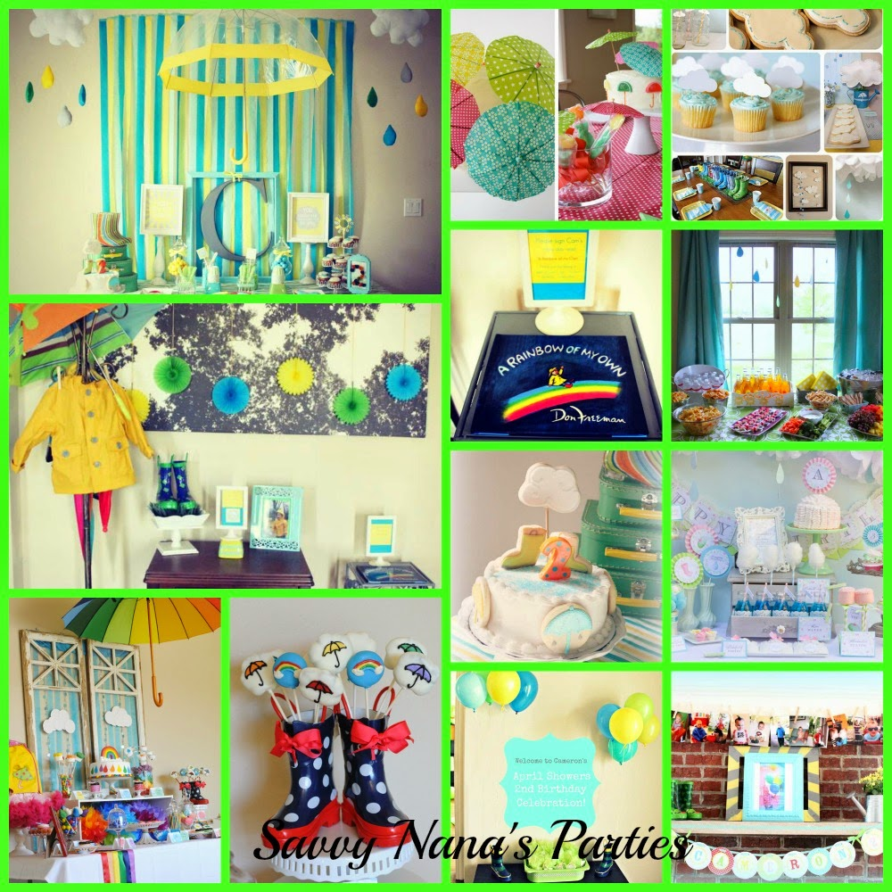 6 April Kids Birthday Party Ideas