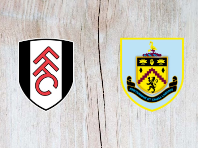 Fulham vs Burnley -  Highlights - 26 August 2018