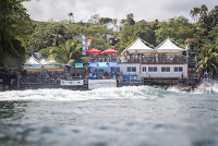 6 event site 2018 Martinique Surf Pro foto WSL Damien Poullenot