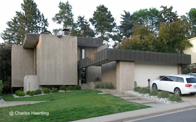 Residencia estilo Brutalista en Denver, Colorado, Estados Unidos