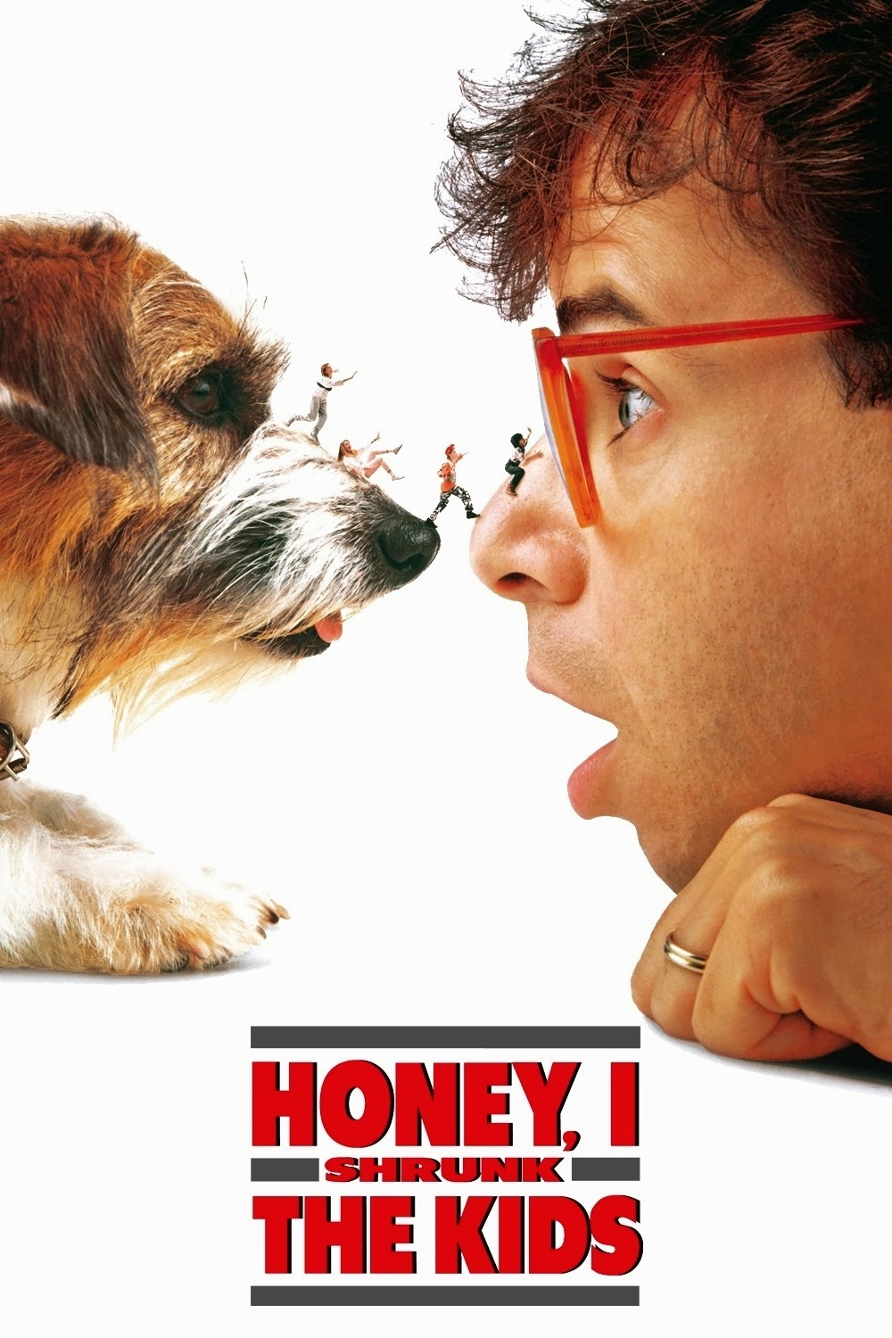 "Poster / Cartaz original do filme: ""Querida, encolhi as Crianças"" - (Honey, I Shrunk the Kids) - 1989"