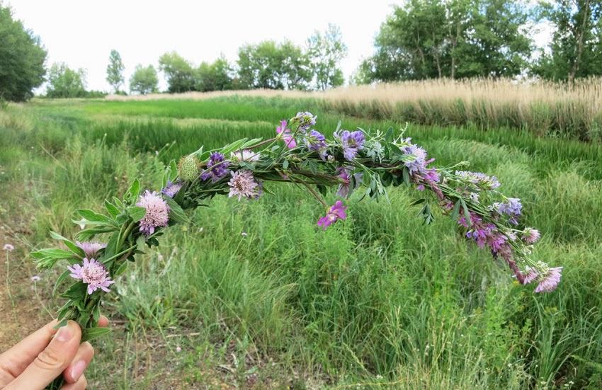 Diy corona de flores silvestres5